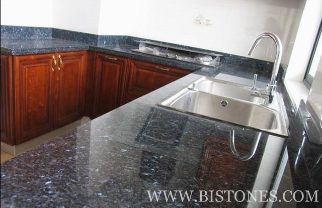Blue Pearl  Counter Tops Picture