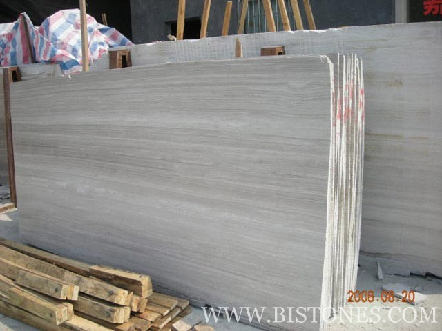 Wood-Grain Grey Slabs